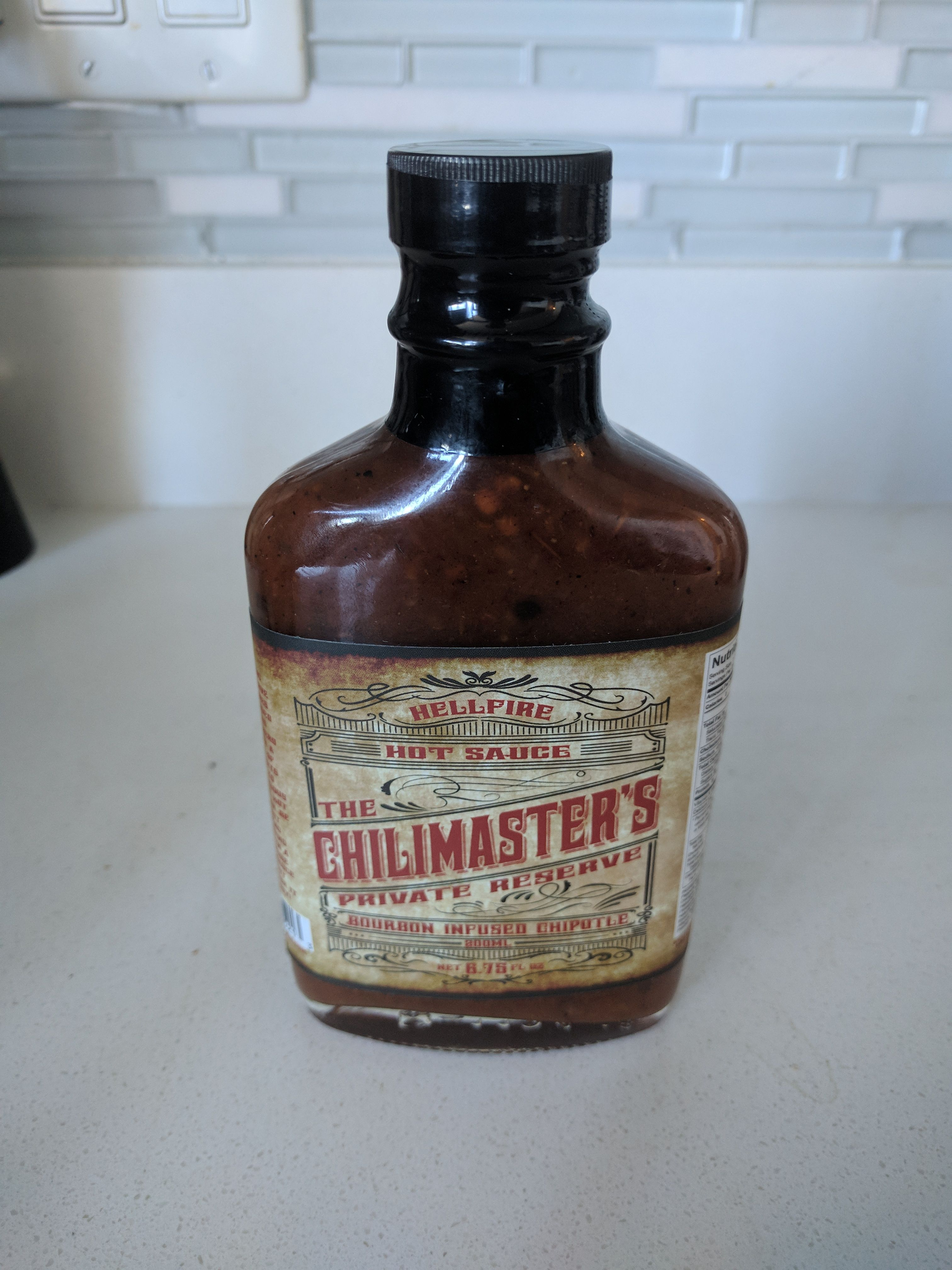 Hellfire Hot Sauce the Chilimaster's Private Reserve